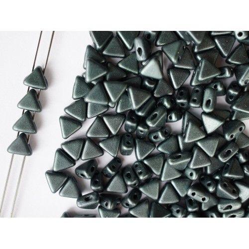 http://www.scarabeads.com/Glass-BEADS/Kheops-par-Puca/Metallic-Mat/50pcs-Kheops-par-Puca-6mm-2-hole-Czech-Glass-Pressed-Beads-Metallic-Mat-Dark-Forest