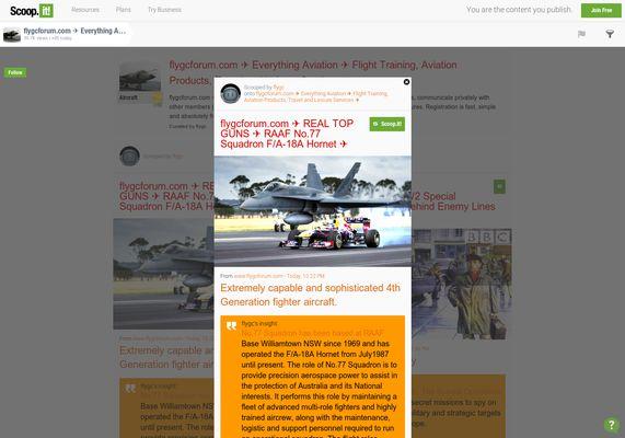 flygcforum.com ✈ REAL TOP GUNS ✈ RAAF No.77 Squadron F/A-18A Hornet ✈