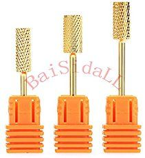 Infographic on Electric Nail File Bits or Nail Drill bits.