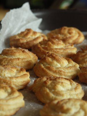 Biscottini morbidi di pasticceria alla ricotta