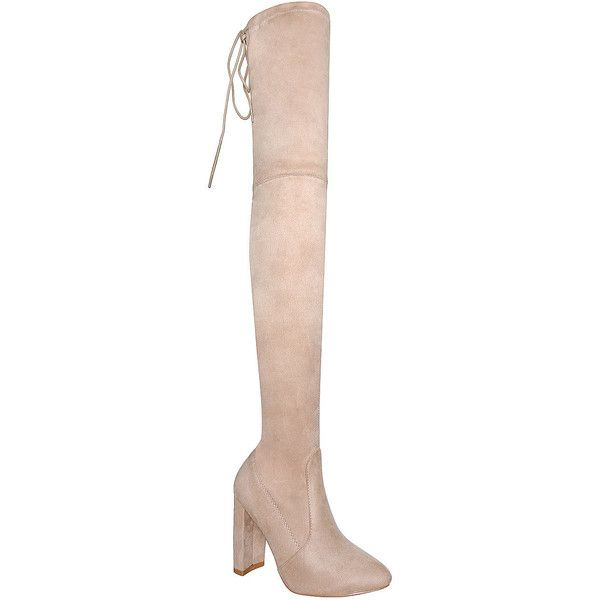 Womens Long Boots: Knee High, Over The Knee & Thigh High Boots : Simmi... ($40) ❤ liked on Polyvore featuring shoes, boots, over-knee boots, above knee boots, knee length boots, over the knee boots and knee thigh high boots