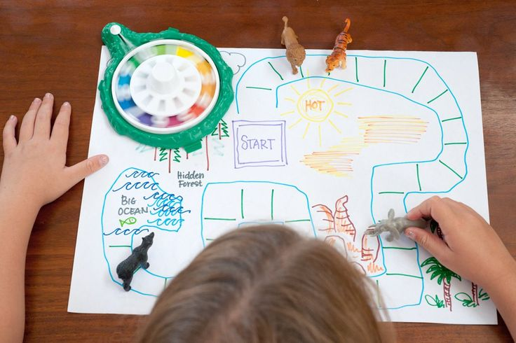 how to make a homemade board game for school