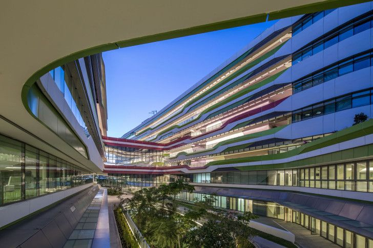 UNStudio and DP Architects complete phase one of sustainable Singapore University of Technology and Design