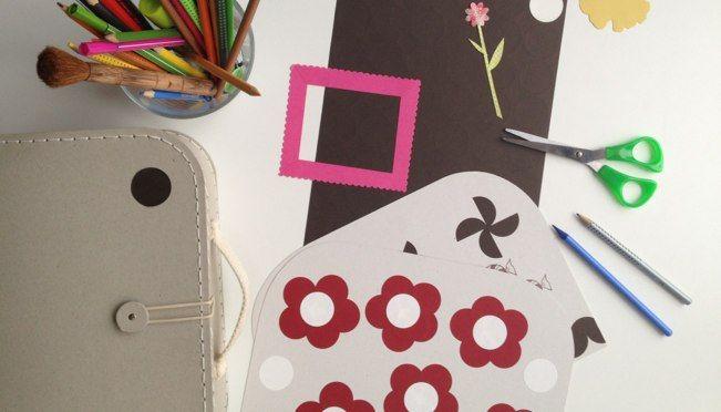 školní kufřík a samolepky. Dokonalá nutnost na pracovní stůl. manekeen.com