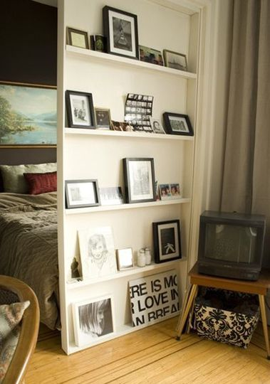 Do this with a small piece-y wall