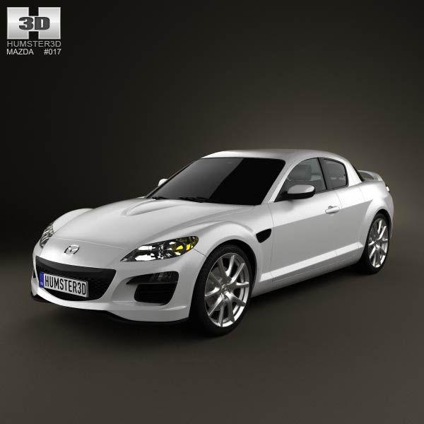 2011 Mazda Rx 8 Camshaft: 61 Best Images About Mazda 3D Models On Pinterest