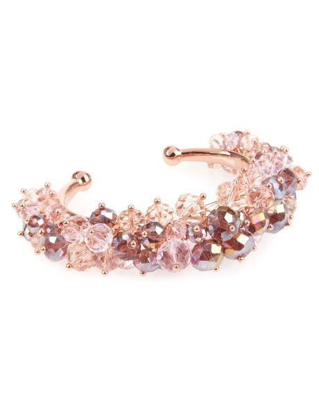 Beaded cluster cuff - Rose Gold| Strictly Sparkle | Ted Baker