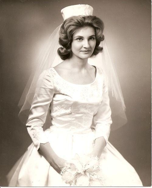 Bride Surprises Grandma In Her 1962 Wedding Dress: Marion In Her Wedding Dress, 1962