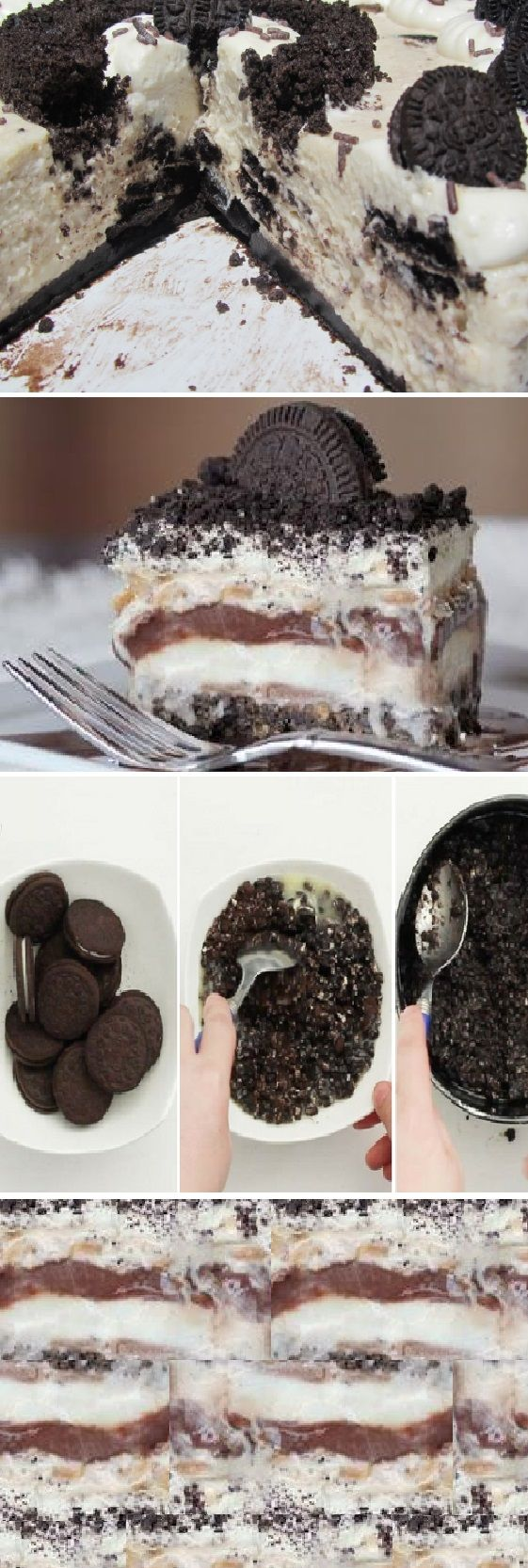 TORTA FRIA DE GALLETAS OREO, muy ´practica y facil de preparar. #oreo #galletas #postres #cakes #dulces #receta #recipe #casero #torta #tartas #pastel #nestlecocina #bizcocho #bizcochuelo #tasty #cocina #chocolate #pan #panes Si te gusta dinos HOLA y dale a Me Gusta MIREN …
