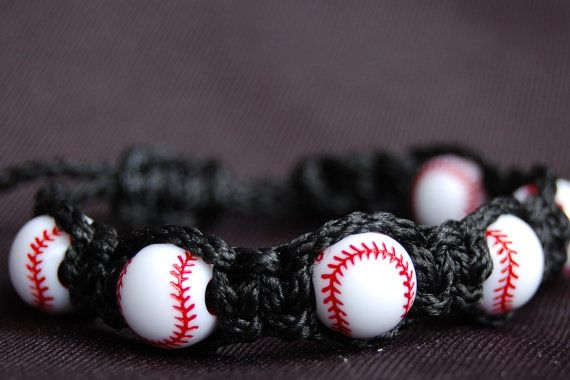 Baseball Bracelet / Trendy Baseball Mom / Baseball / Girls / Boys