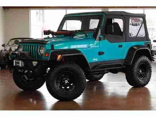 jade colored jeep | 1998 Jeep Wrangler Sport 4X4