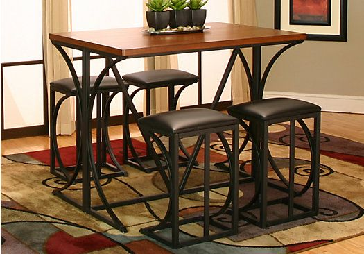 Shop for a Bistro Club 5 Pc Dining Set at Rooms To Go Find Dining
