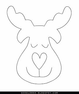 LongRedThread has found the picture and I made the pattern. I had no time to sew the reindeer yet, but maybe one of you will have...