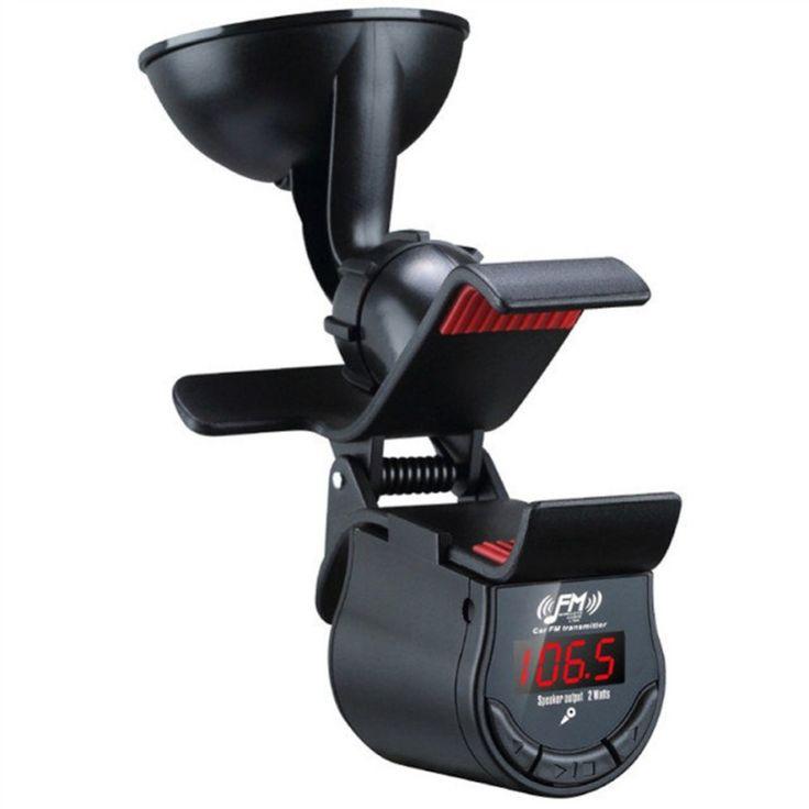 ขายราคา<SP>Multi-functional Handsfree Car Mount Holder With FM Transmitter For All++Multi-functional Handsfree Car Mount Holder With FM Transmitter For All - Hands-free function - Work as navigation, video playing - Transmit music from cell phone to car audio - Buil ...++
