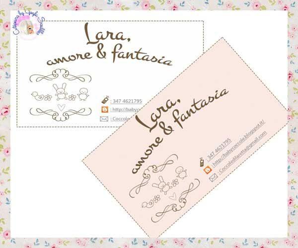 ...e il biglietto da visita per Lara http://graficscribbles.blogspot.it/2014/05/biglietto-visita-personalizzato-custom-business-card.html
