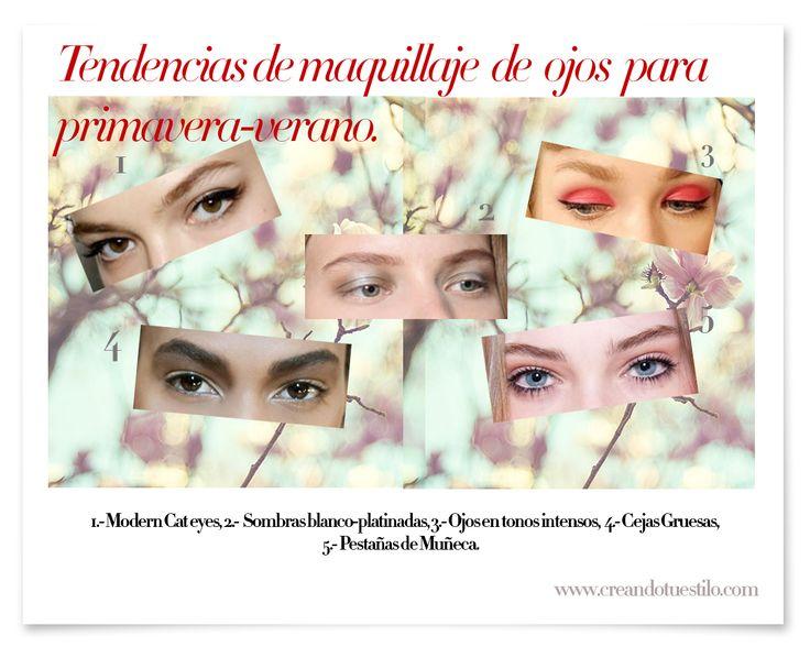 Tendencias de maquillaje de ojos para primera-verano-1  http://creandotuestilo.com/2012/03/28/tendencias-de-maquillaje-de-ojos-para-primavera-verano-2012/