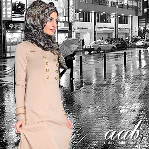 SPRING TRENCH ABAYA There's a cool chill back in the air so make sure you grab this Trench Abaya and add stylish coverage to your wardrobe! Start the season in style with this amazing Trench style Abaya. http://www.aabcollection.com/shop/product/spring-trench-abaya/250