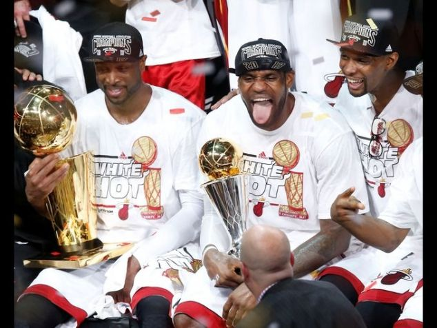 2013 NBA Champions Miami Heat