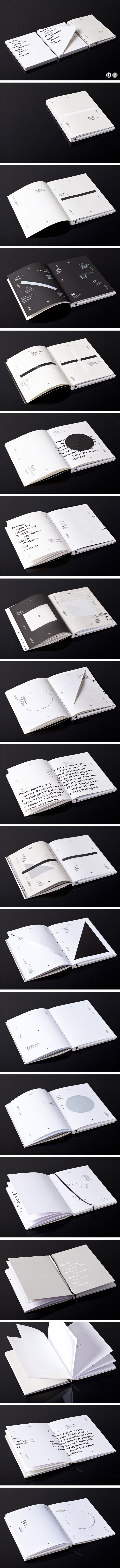 This is about knowing where to put type. Stunning, spare and compelling.