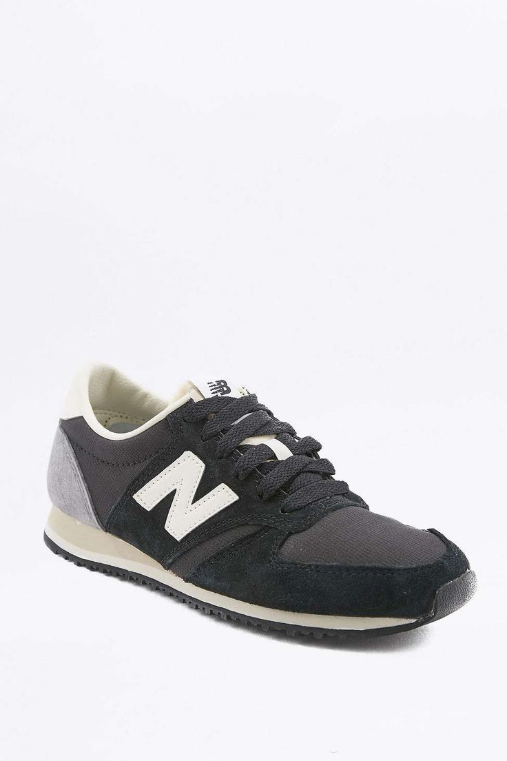 new balance 420 leather trainers