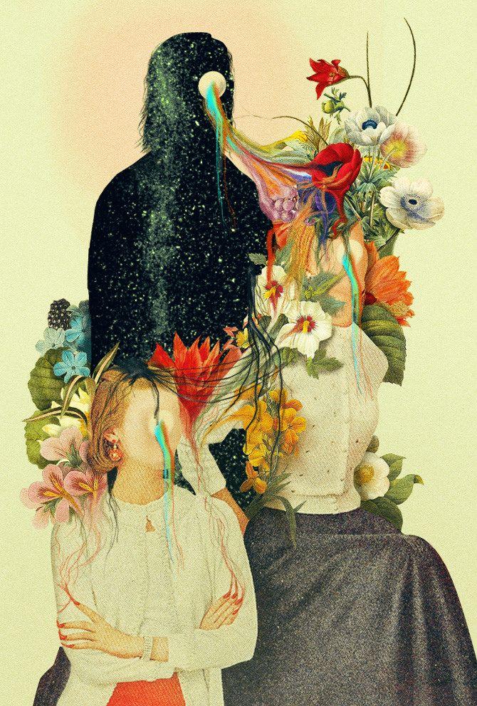 Cultura, arte y diseño mexicano | Inkult Magazine – Dromsjel | Collage fuera de este mundo.