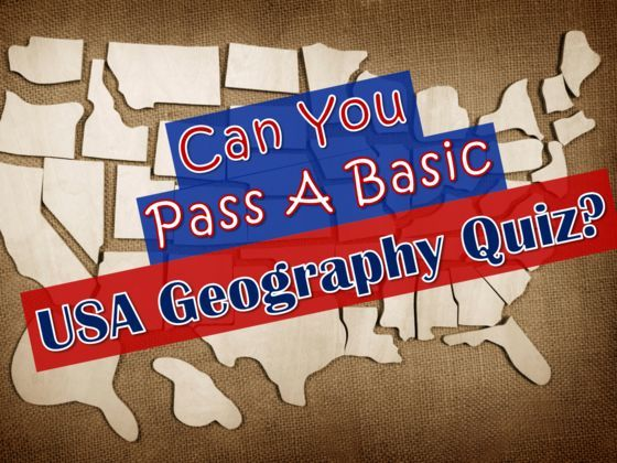 Can You Pass A Basic USA Geography Quiz? See if you can label the map and identify the capitals!