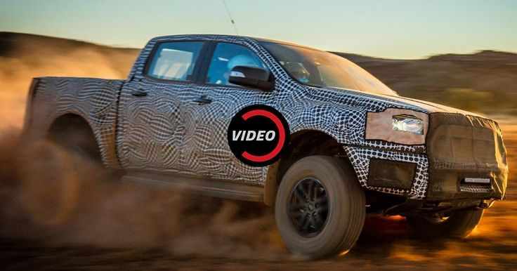 New Ford Ranger Raptor Teased, It's Coming Next Year #Ford #Ford_Ranger