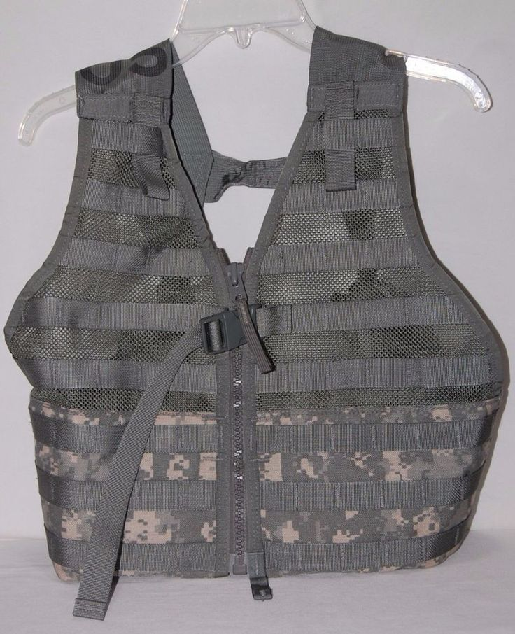 Tactical Vest Airsoft Molle Combat Assault Military Army One Size #Unbranded