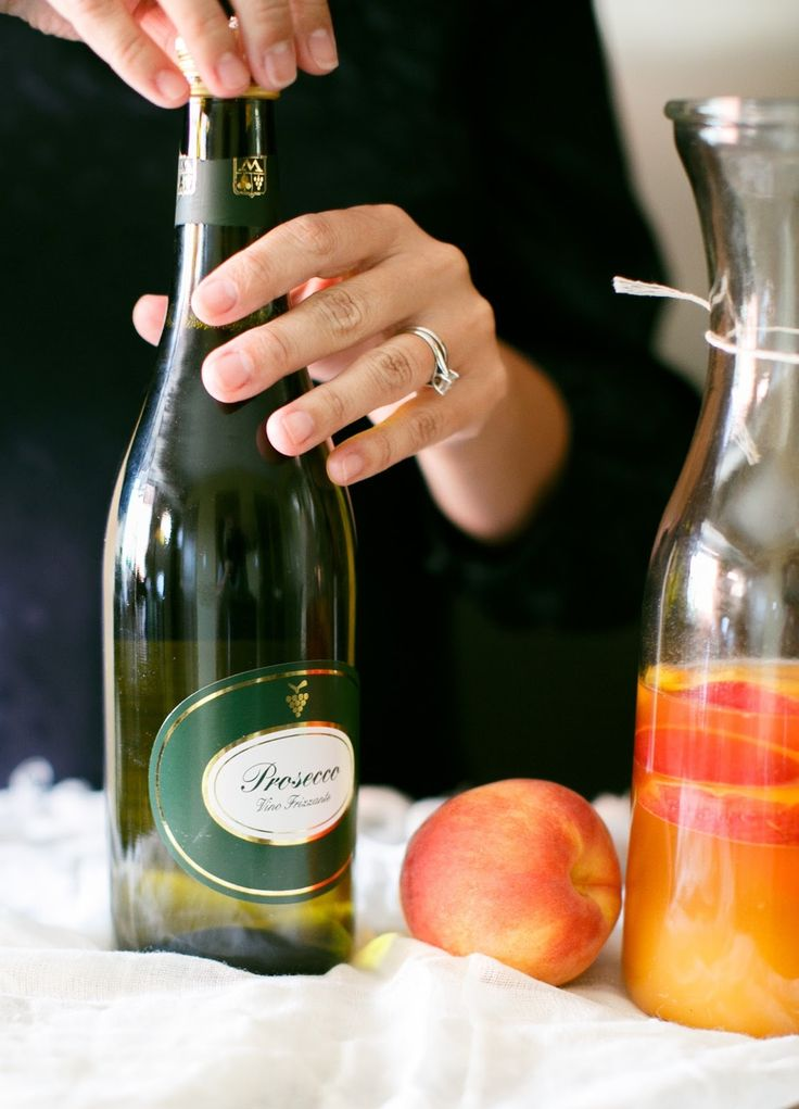 Signature Drink | Prosecco Sangria | Julie Blanner entertaining & design that celebrates life