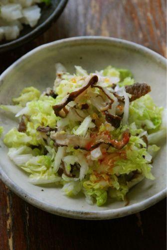 干ししいたけのぬか漬けの白菜サラダ by 庄司いずみ(izumimirun)さん ...