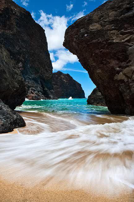 Road to Honopu, Kalalau, Kauau, Hawaii. I have been here, but am dying to go back!