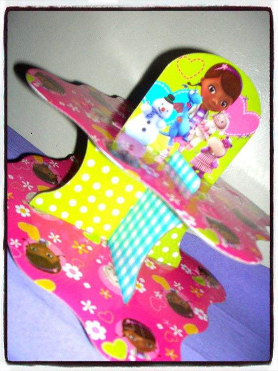 Dr McStuffins Cupcake Snack Stand Birthday by BrendasPINATAS, $6.00