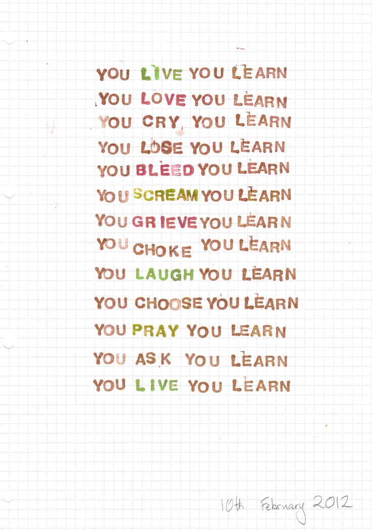You Learn - Wikipedia