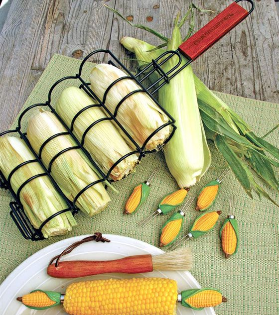 Corn Grilling Tool:  13 Cool Grill Tools
