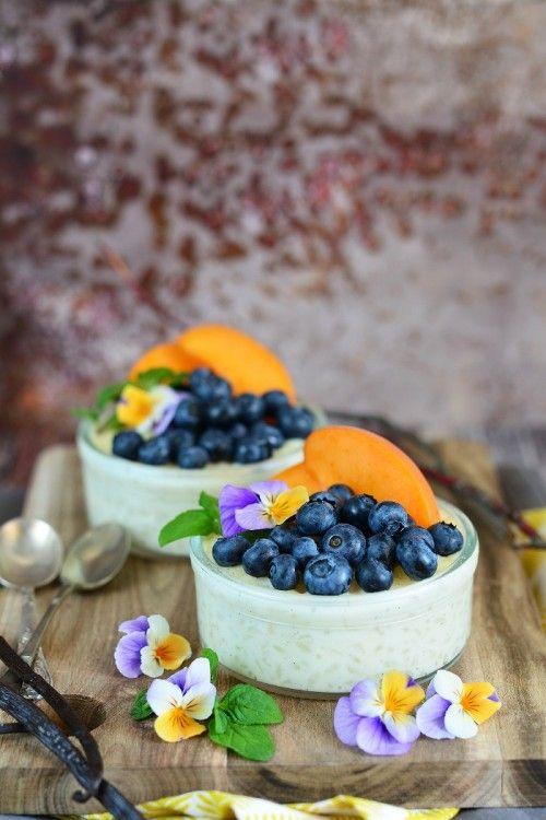 Gyümölcsös tejberizs recept