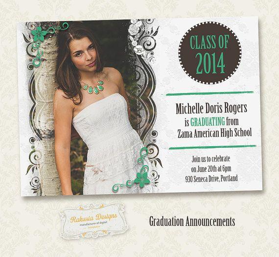 graduation postcards invitations choice image invitation templates