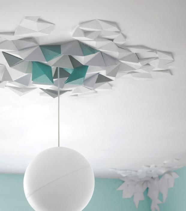 """Geometrisch: Wand- und Deckenschmuck """"Rhombus"""" von The Fundamental Group"""