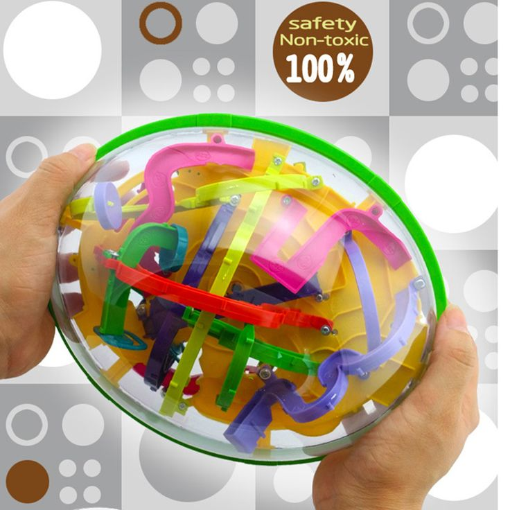 ==> [Free Shipping] Buy Best 3D Ball Maze Perplexus Ball Puzzle Board Game Magical Intellect Ball Intelligence Educational For Children 299 Barrier Online with LOWEST Price | 32776109548