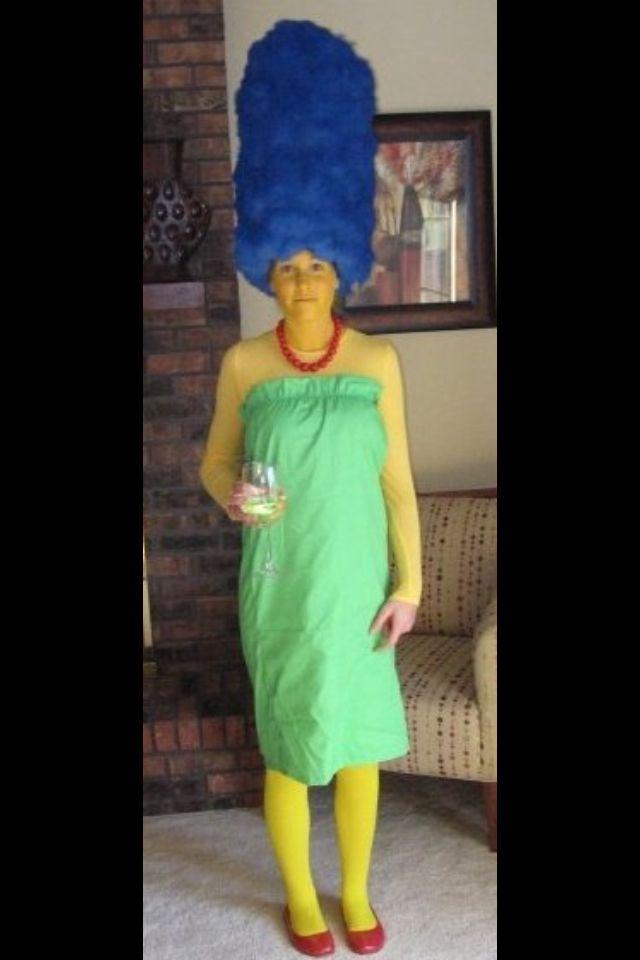 Marge Simpson Costume Holiday Halloween Simpsons