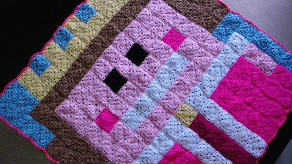 Check out this item in my Etsy shop https://www.etsy.com/listing/194690242/princess-crochet-blanket-granny-square