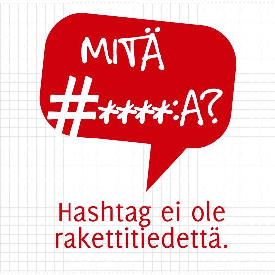 Hashtag ei ole rakettitiedettä ja ne toimivat Twitterin lisäksi myös esimerkiksi Pinterestissä! #zentonayttaa