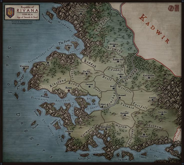 Regional Map Rivana by Levodoom 808