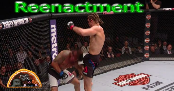 Reenactment of Highlights UFC 199 Brian Ortega KNOCKED OUT Clay Guida