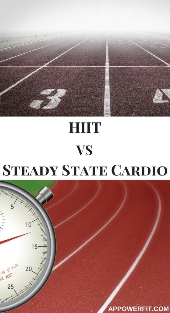 HIIT vs steady state cardio - Do you know which one is best for you?