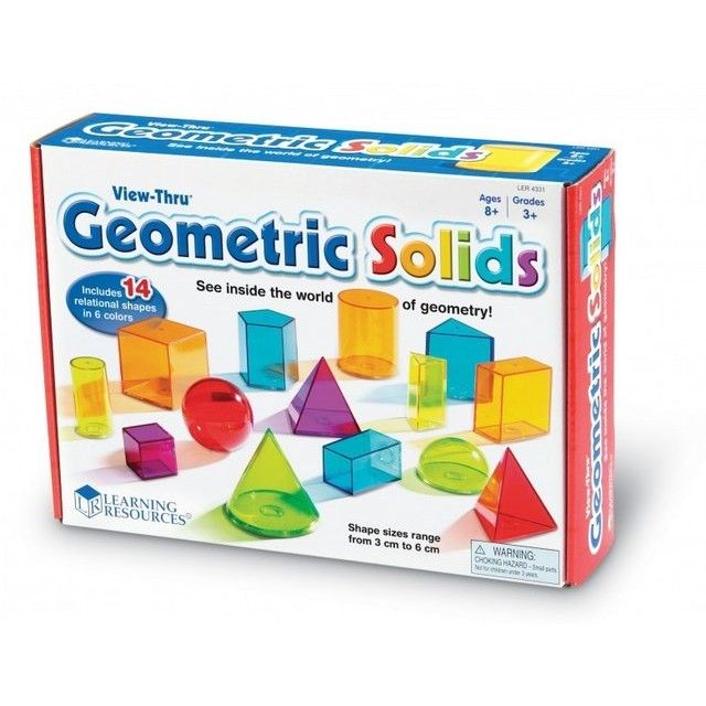 Learning Resources Forme geometrice colorate