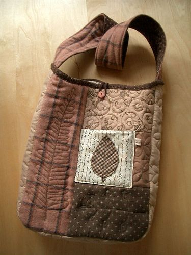 quilted bag 3- front by PatchworkPottery, via Flickr