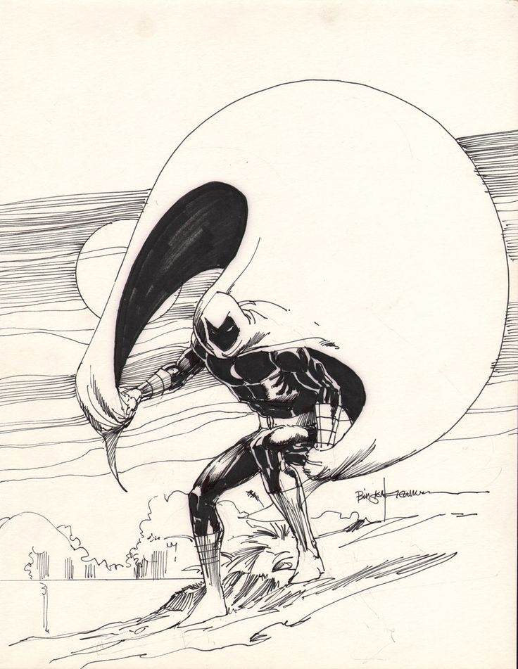 Moon Knight by Bill Sienkiewicz