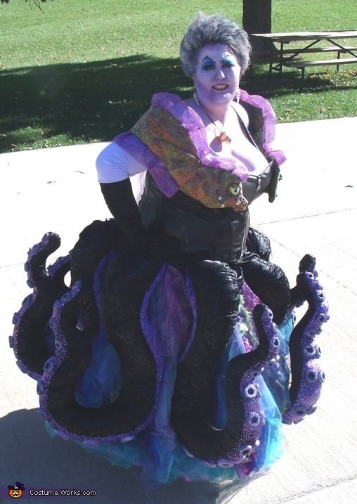 19 best costumes images on pinterest find this pin and more on halloween ursula the sea witch costume solutioingenieria Images