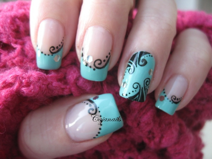 Nail art Nostalgic decorations