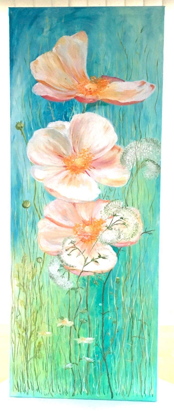 Blumen Malen Mit Acrylfarben In 8 Einfachen Schritten Blumen